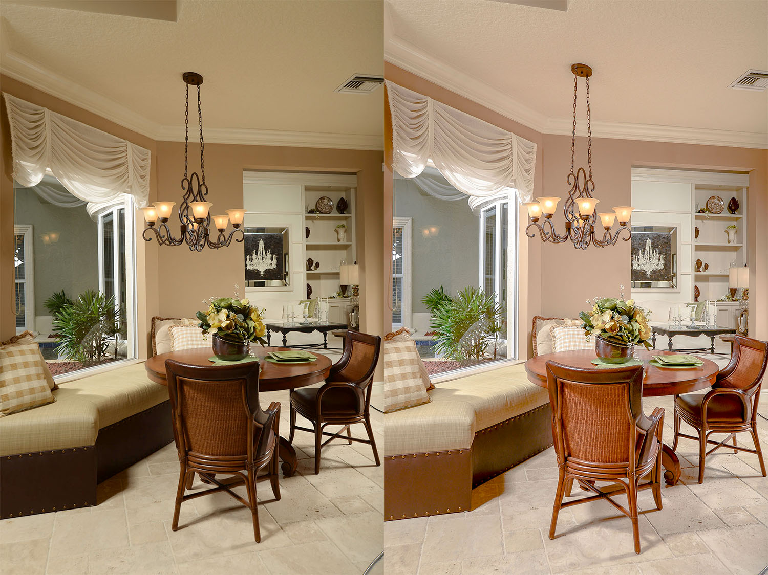 Image: The image on the left might look good as a print, but it would reproduce poorly on a press. T...