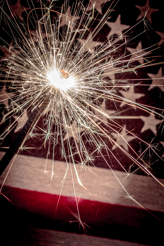 5 - sparkler photography