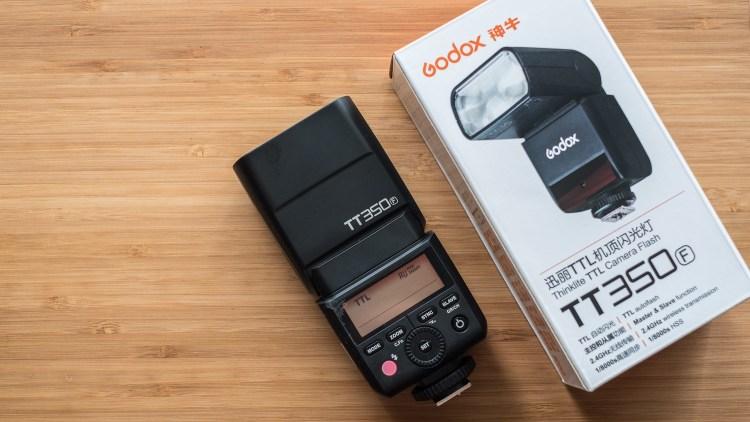 Godox tt350 with box