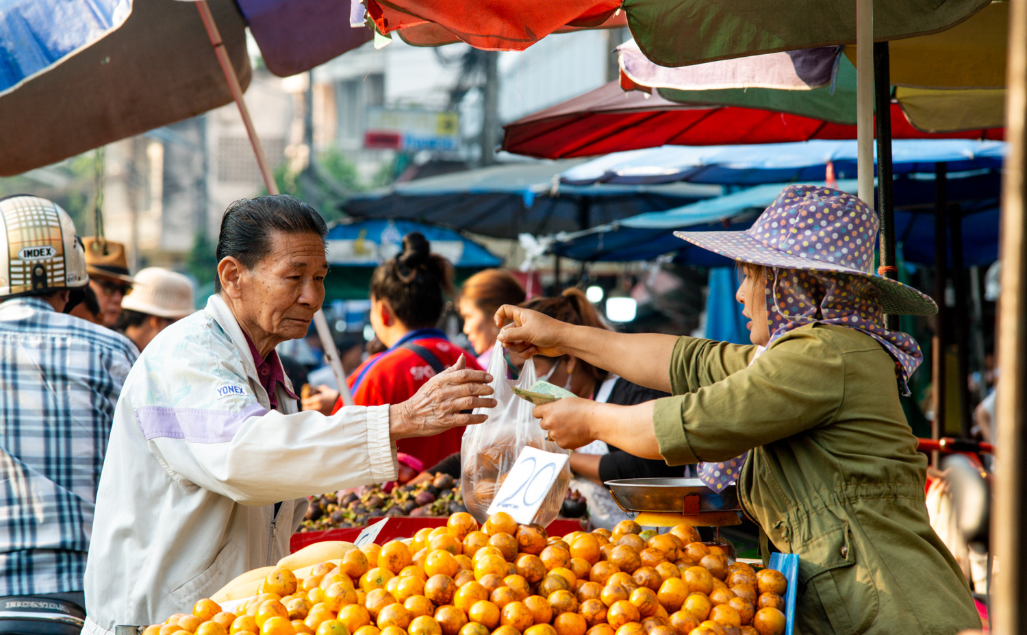 Fruit Vendor Documentary Travel Photography: How to Add More Interest to Your Travel Photos