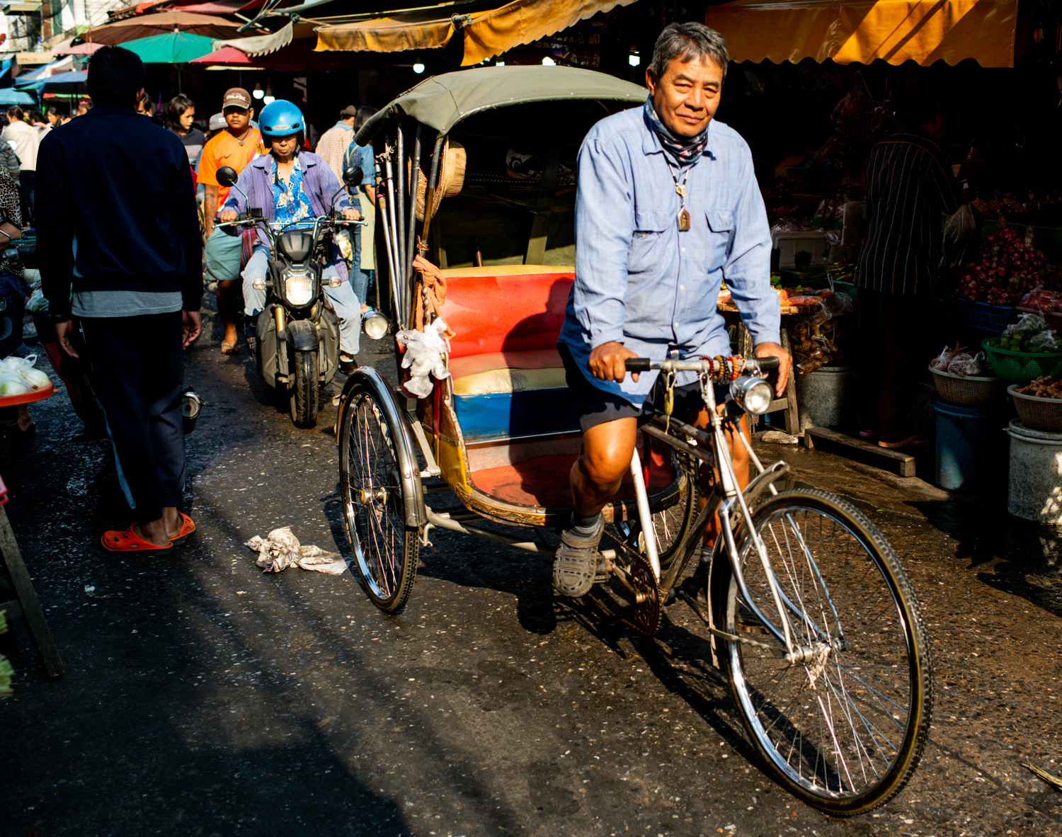 Market Tricycle Taxi Ride How to Create a Documentary Photography Project