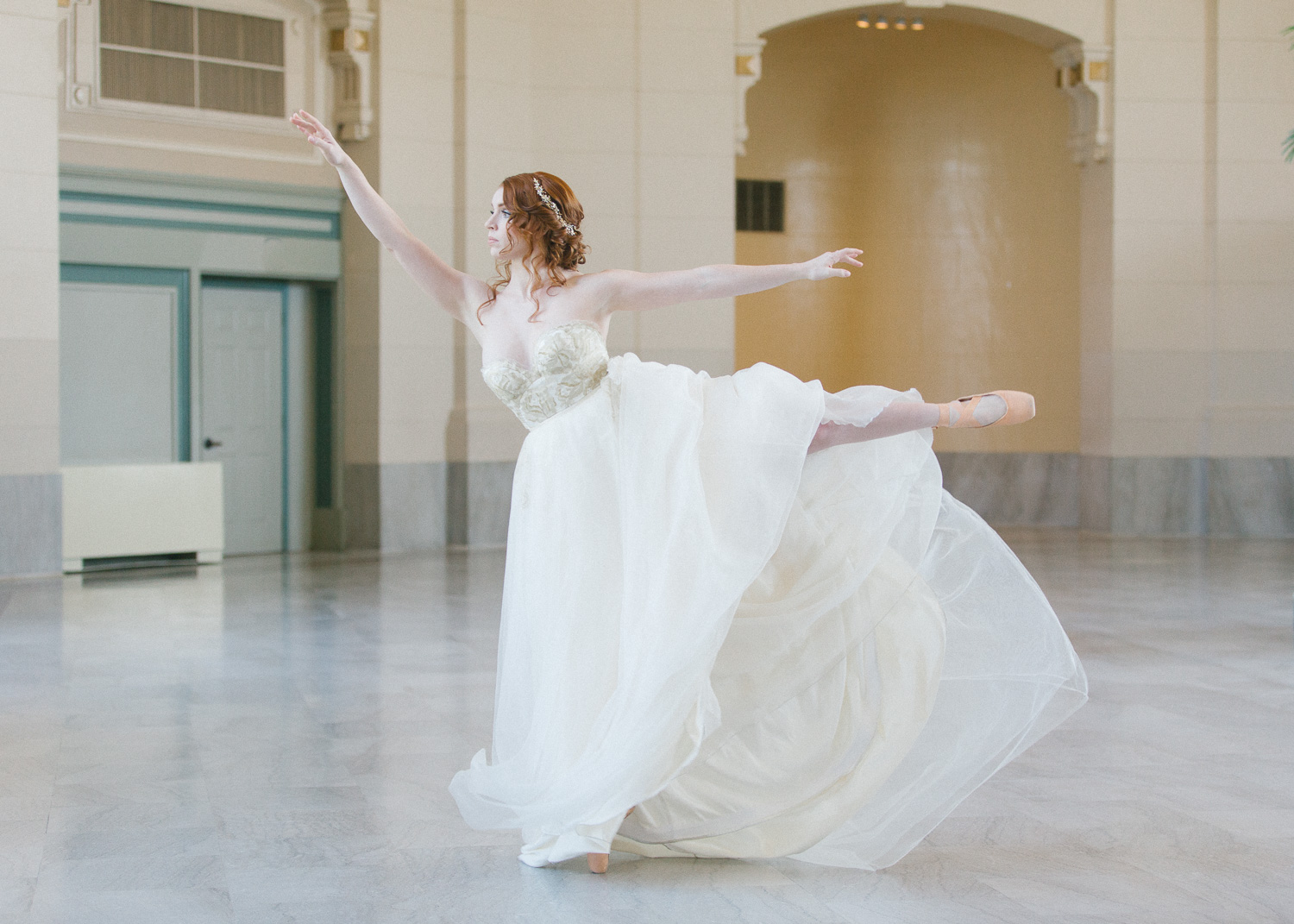 Ballet inspired styled shoot collaboration with other wedding vendors Karthika Gupta