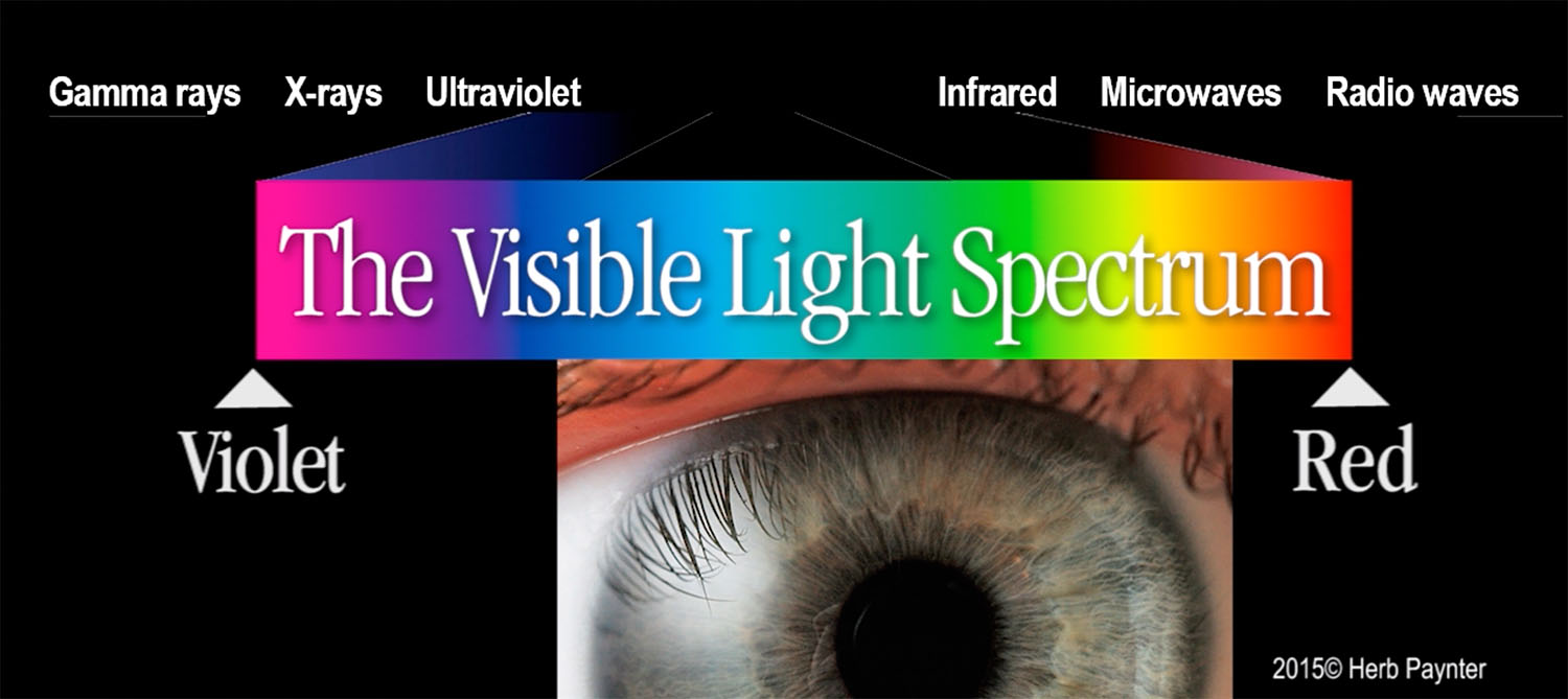 Image: The Electromagnetic Spectrum includes both ultraviolet and infrared frequencies, which are te...