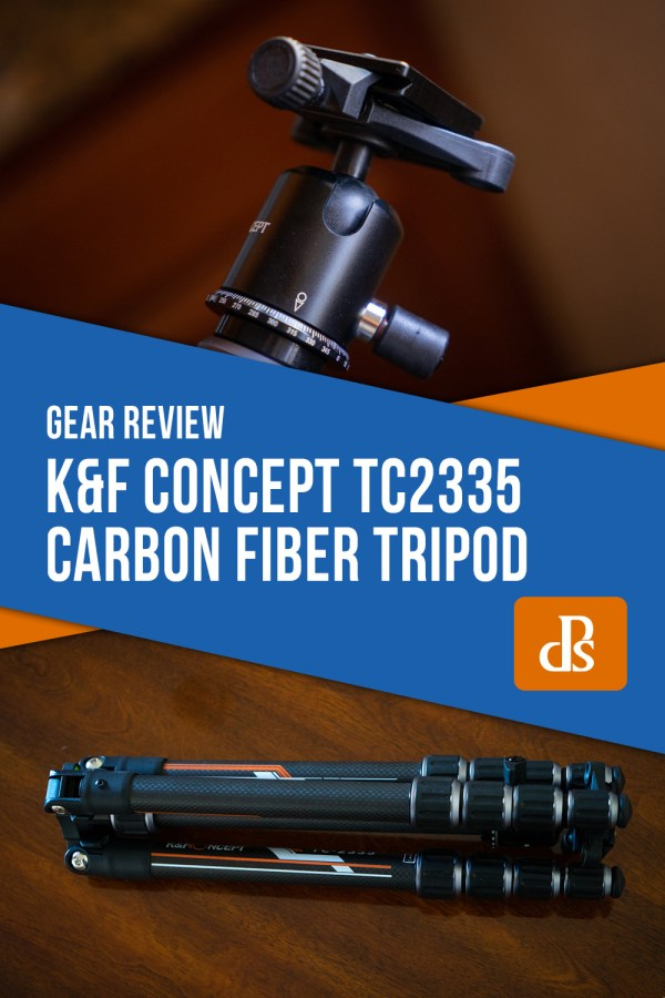 K&F Concept TC2335 Carbon Fiber Tripod Review