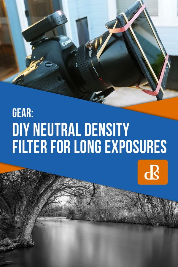 Try this DIY Neutral Density Filter for Long Exposure Photos
