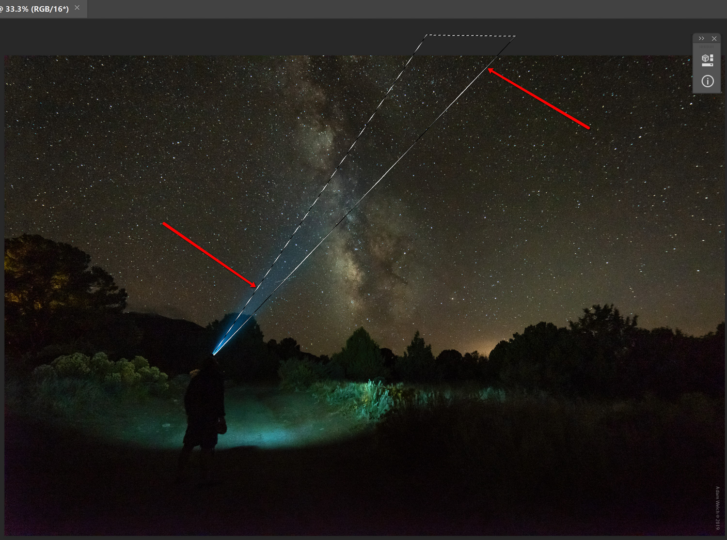 How to Realistically Enhance Light Beams in Photoshop