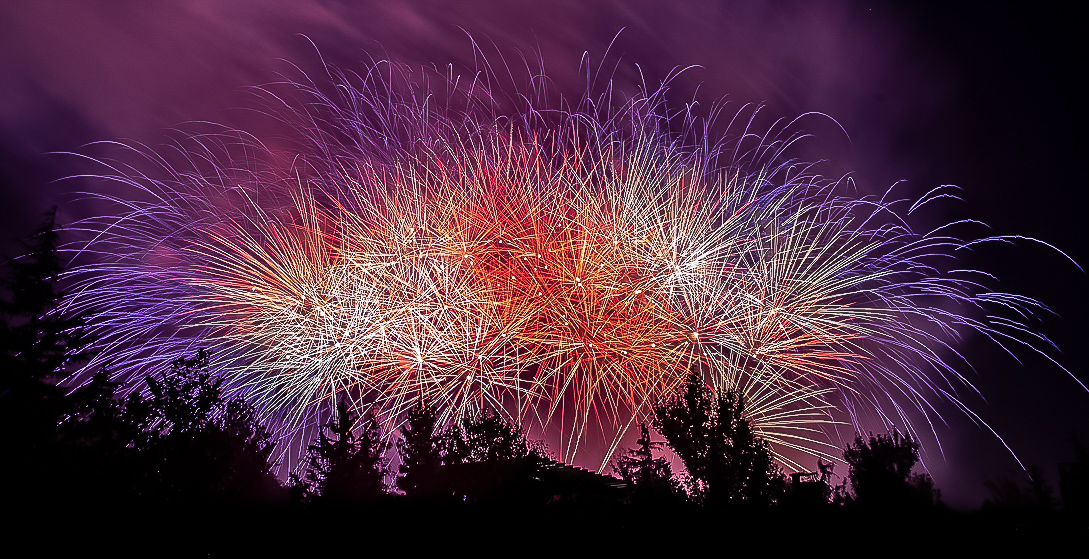 How to Edit Fireworks Photos