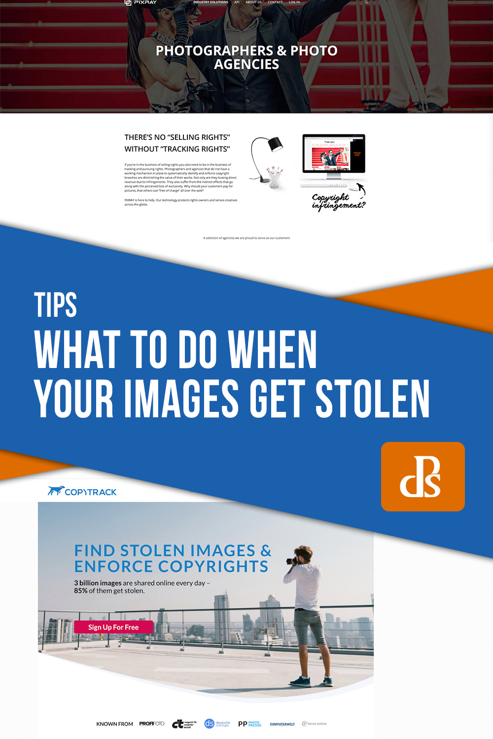 What to do if your images are stolen