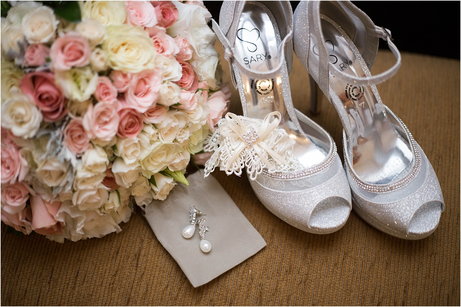 Image: Assistants can help gather details during a wedding day and help with styling as well.