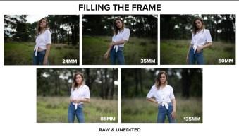 Prime Lens Comparison – 24mm vs 35mm vs 50mm vs 85mm vs 135mm