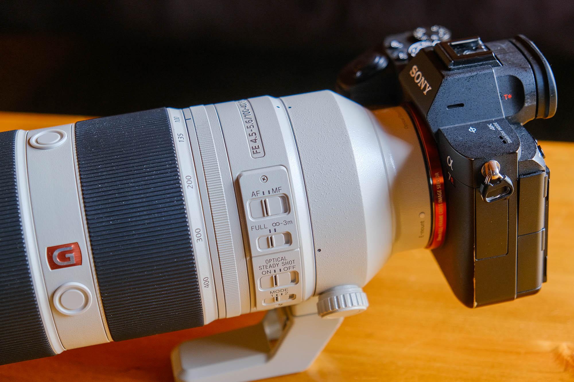 Sony 100-400mm Lens