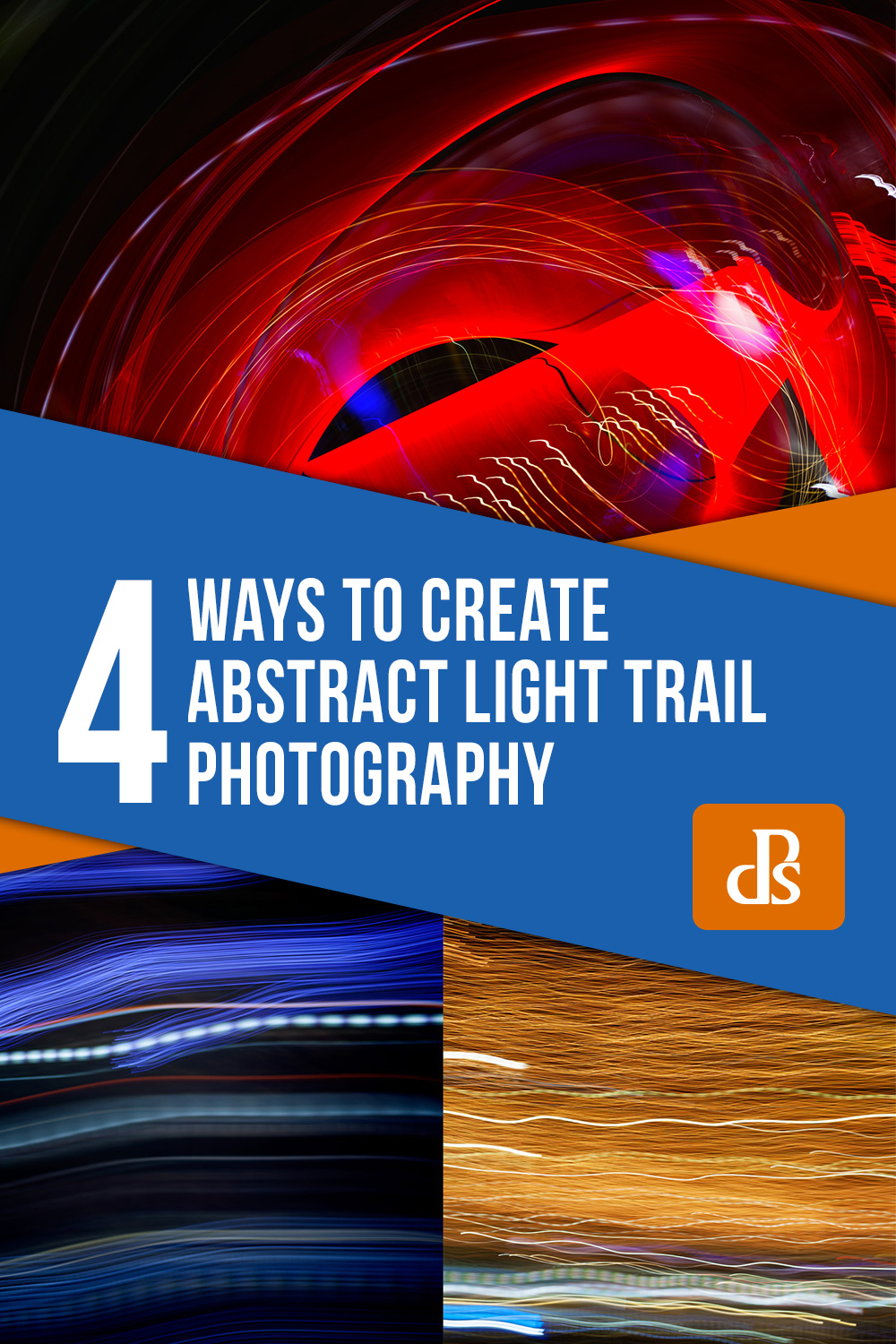 4 ways to create abstract light trail photography