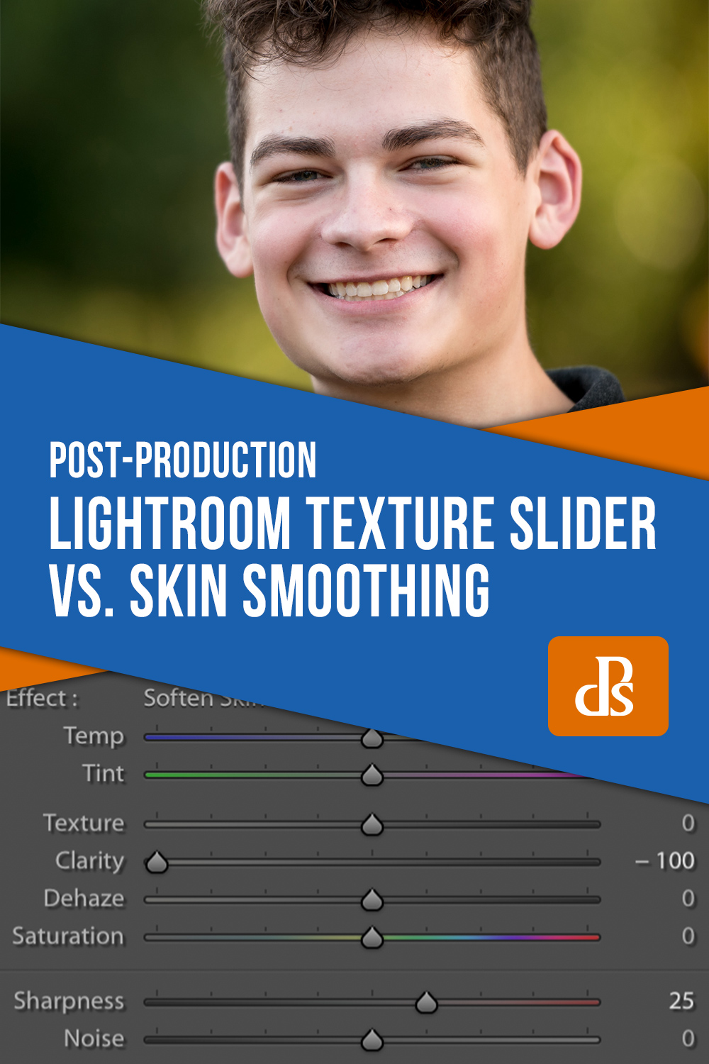 Lightroom Texture Slider vs Skin Smoothing