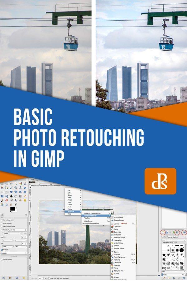 How to Use Gimp for Basic Photo Re-Touching