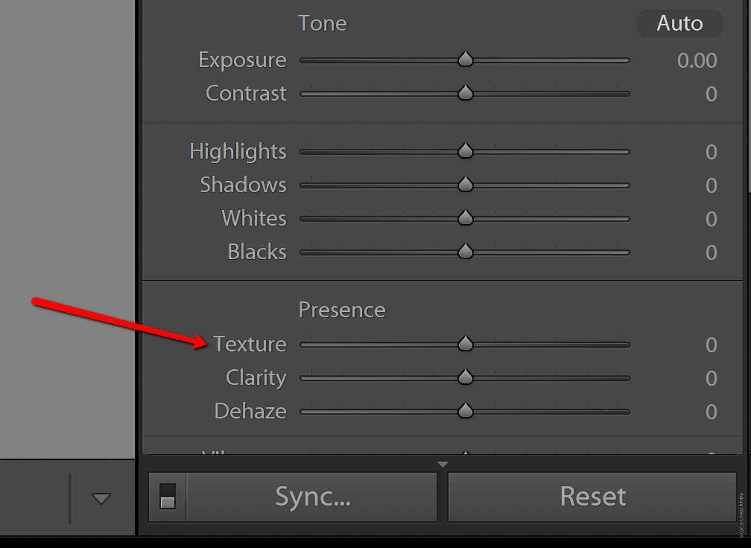 Texture and Clarity Sliders in Lightroom Classic CC: What's the difference?