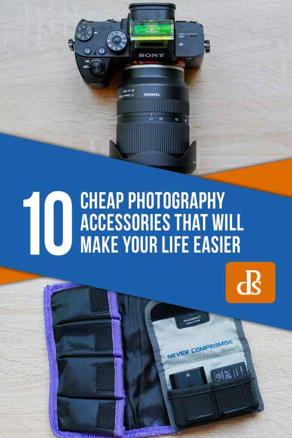 10 Cheap Photography Accessories that will Make Your Life Easier