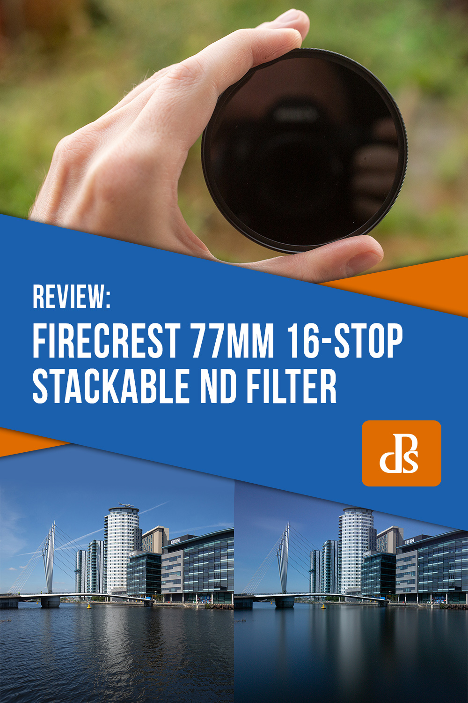 Firecrest-77mm-16-Stop-Stackable-Neutral-Density-Filter