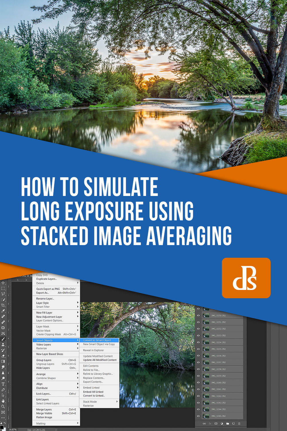 simulate long-exposure stacked image averaging