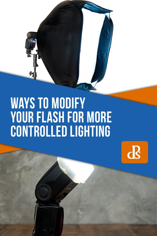 Ways to Modify Your Flash for More Controlled Lighting