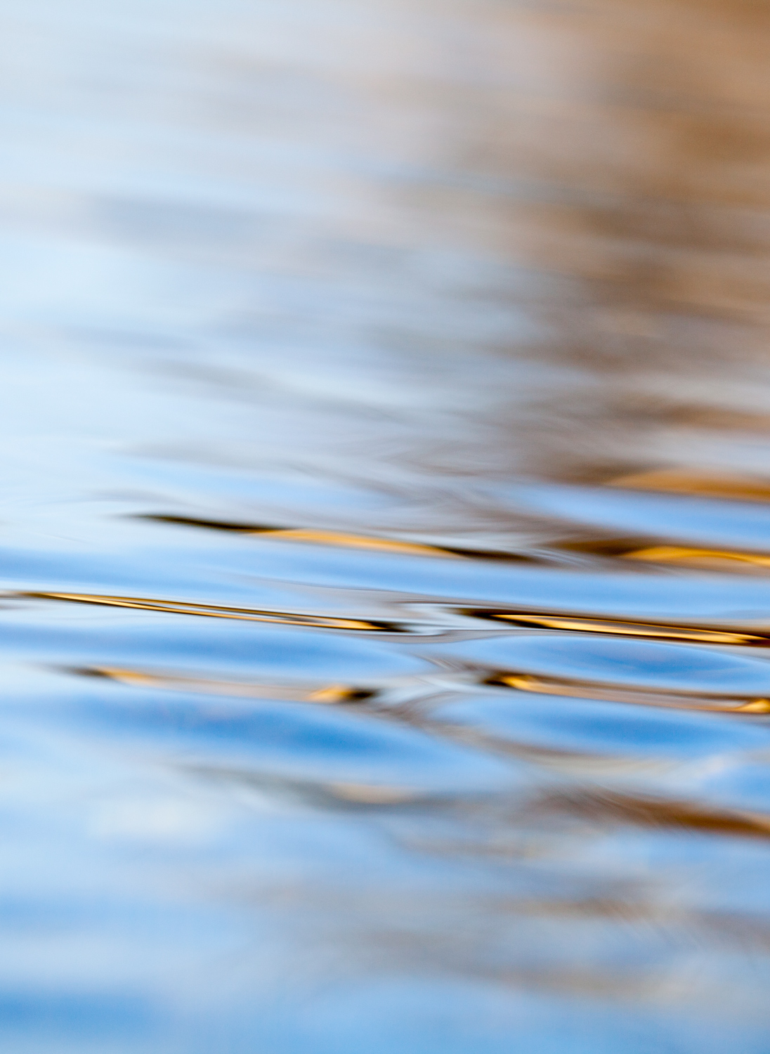 abstract horizontal of water