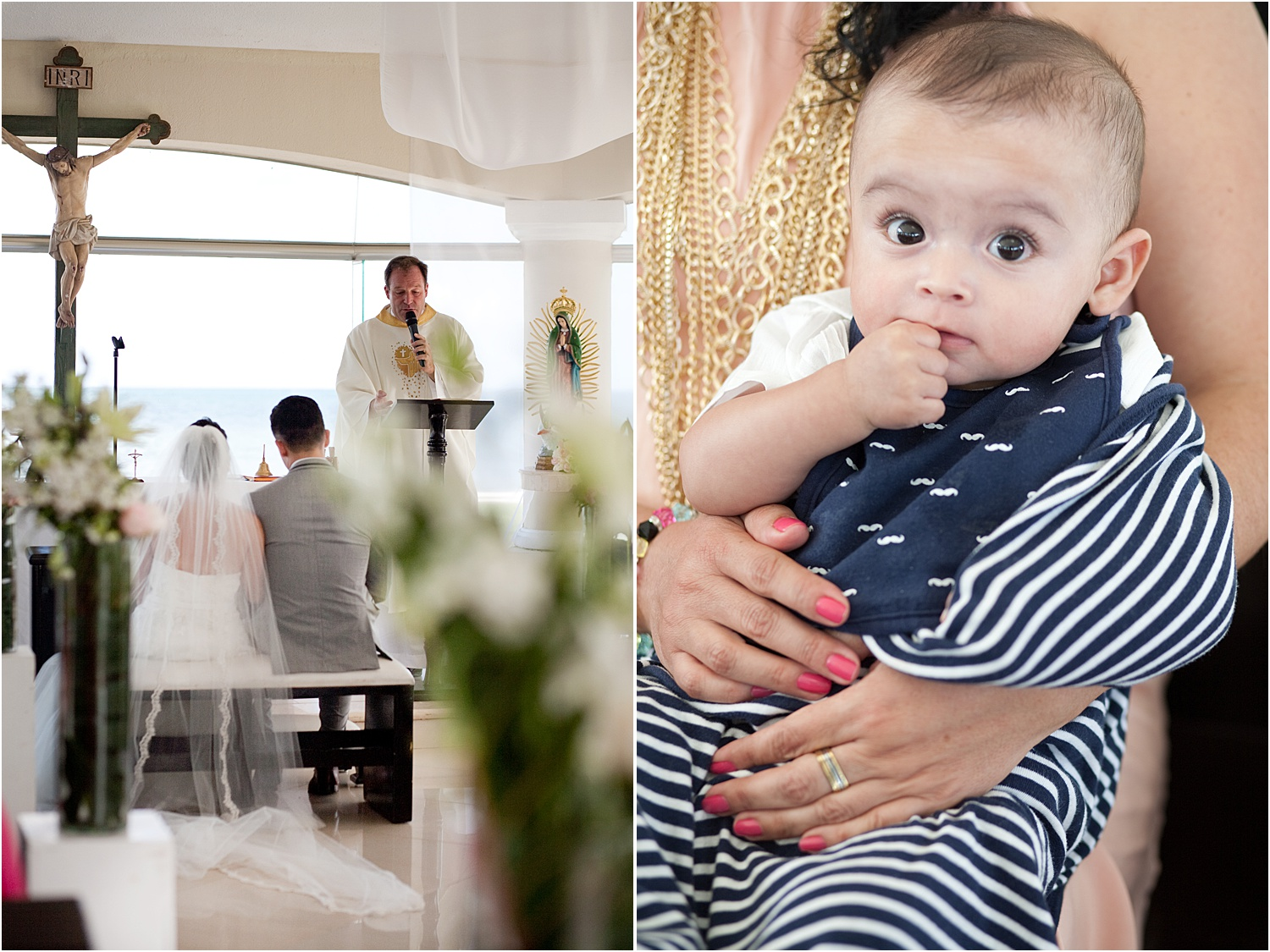 Image: A second shooter can get creative with angles, perspective, and photograph key guests at wedd...