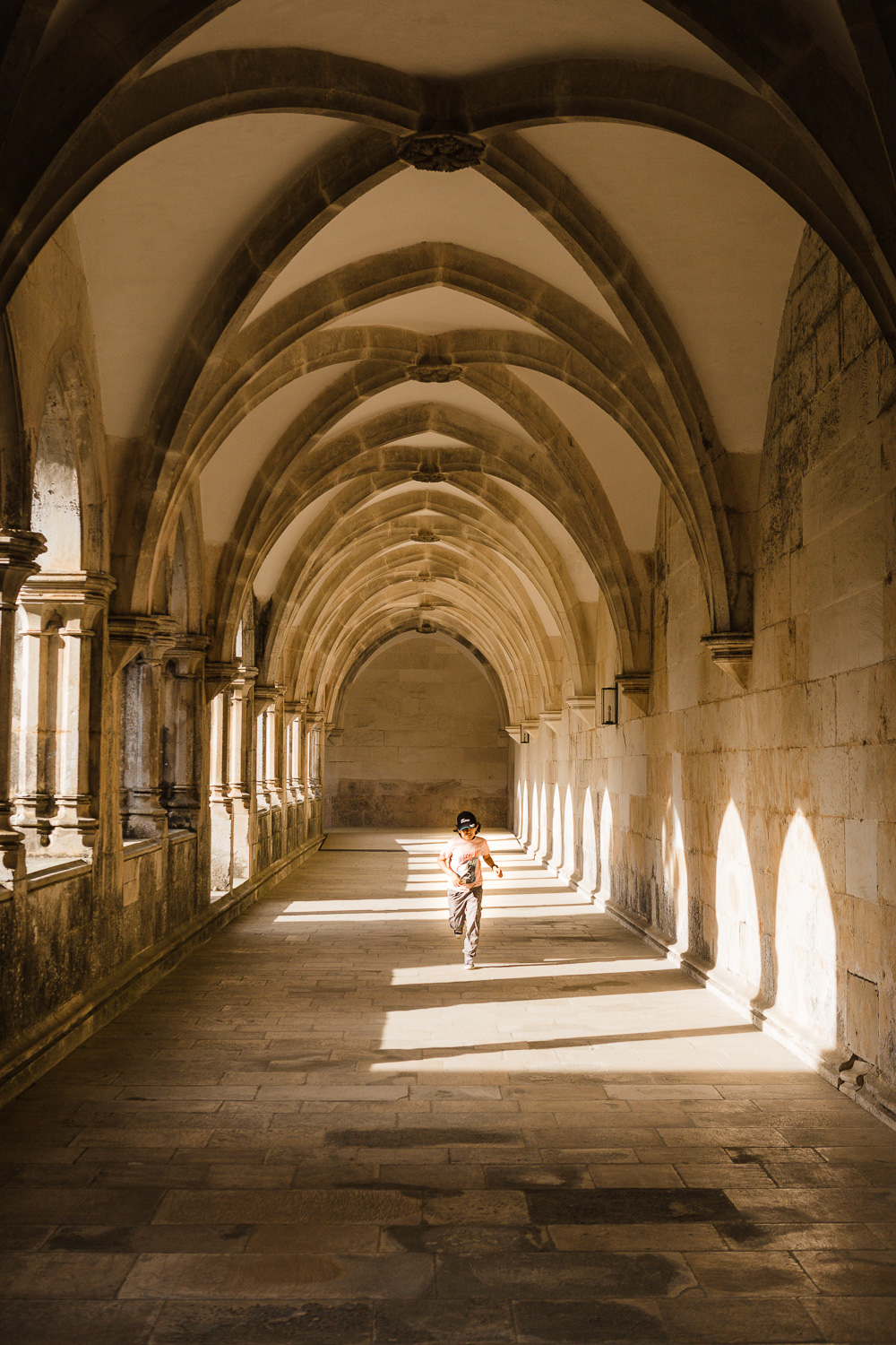 Image: This is one of my favorite photos of my son during our travels. I saw the light and him almos...