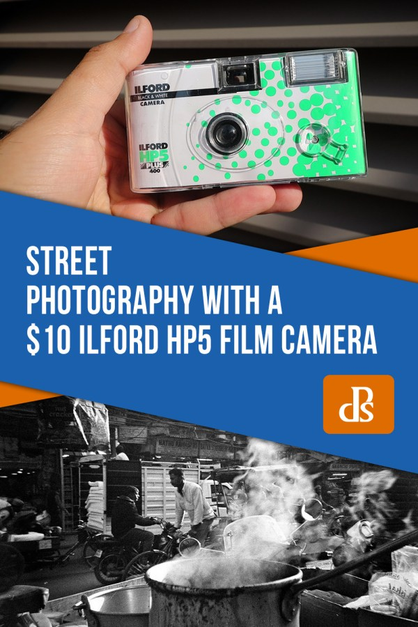 Street Photography with $10 Ilford HP5 Film Camera