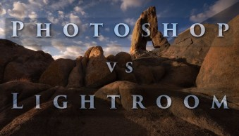 Photoshop vs Lightroom – the Power of Photoshop