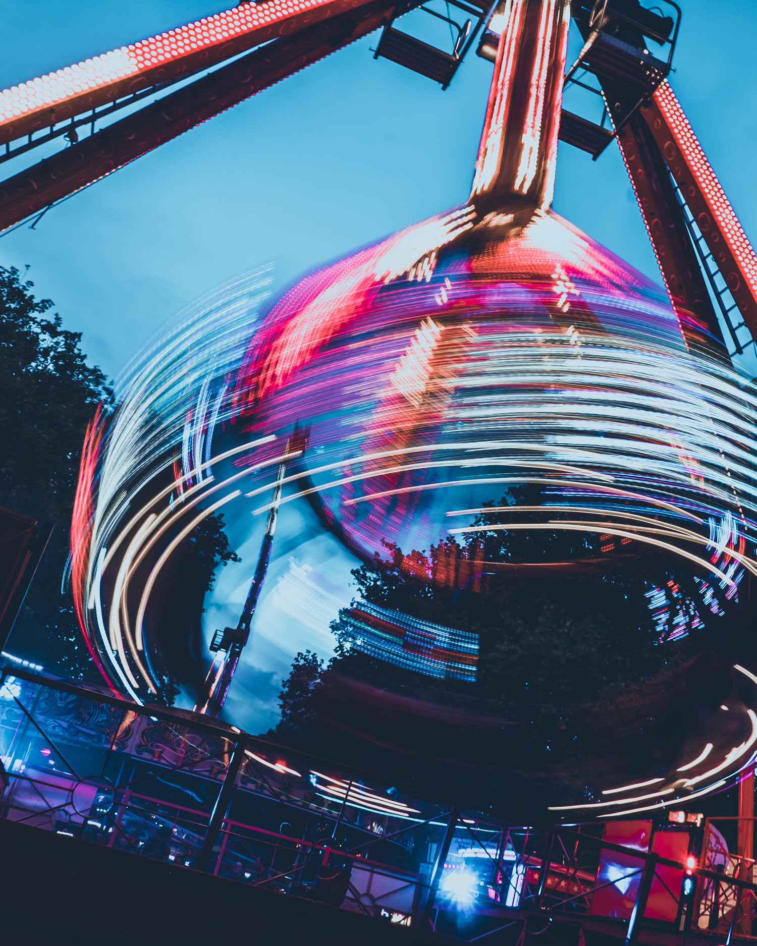 funfair and amusement park photography