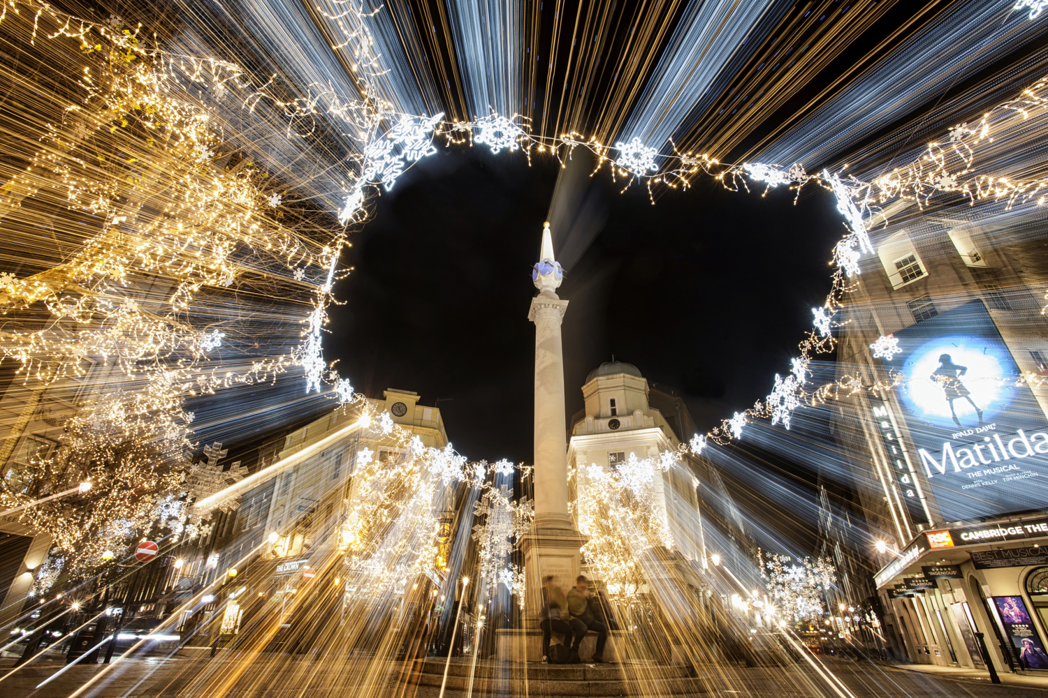 Image: A zoom burst photo is something only a zoom lens can achieve.