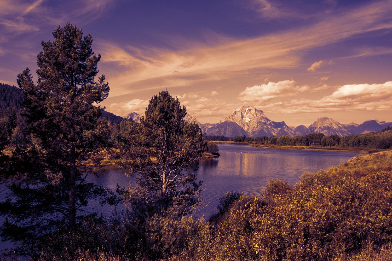 Image: Applying the Late Sunset LUT creates a dramatic finish