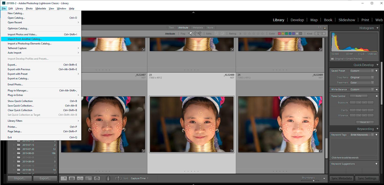 Smart Previews Lightroom CC
