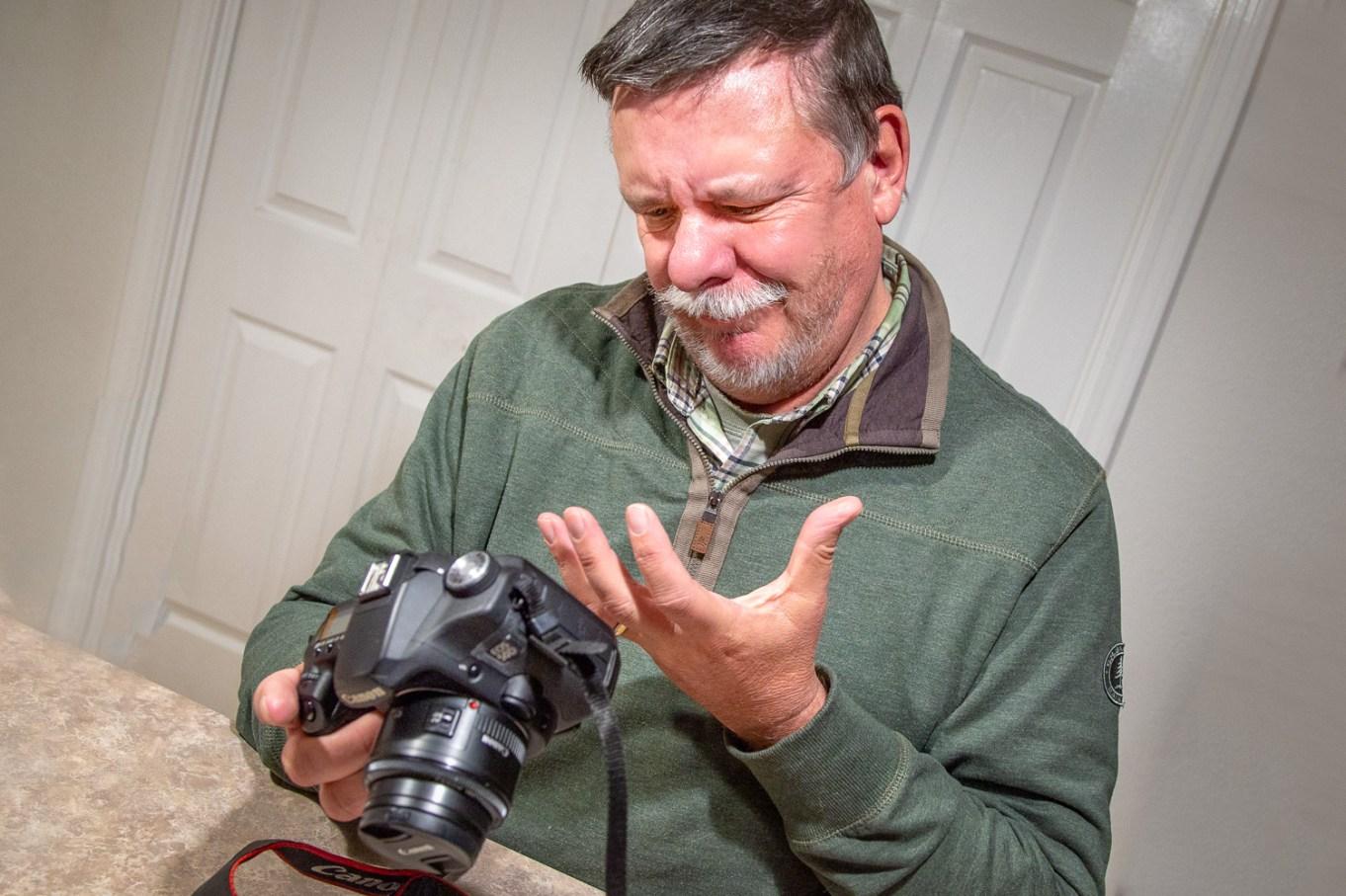 图片:我们都犯错-愚蠢的摄影师错误。当遇到陷阱时,能够退出...