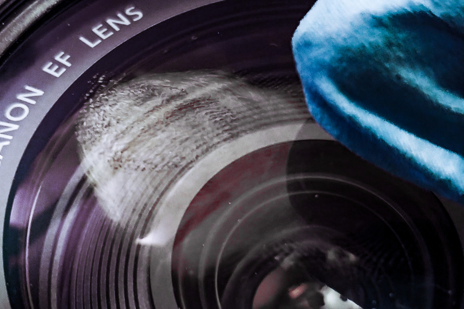 Image: A smudge on your lens can ruin an entire photo session if it goes undetected. Clean your lens...