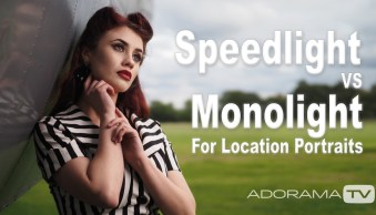 Speedlight vs Monolight on Location: See How They Compare [video]