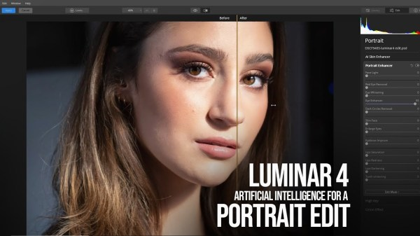 Portrait Editing with Luminar 4 – Using Artificial Intelligence