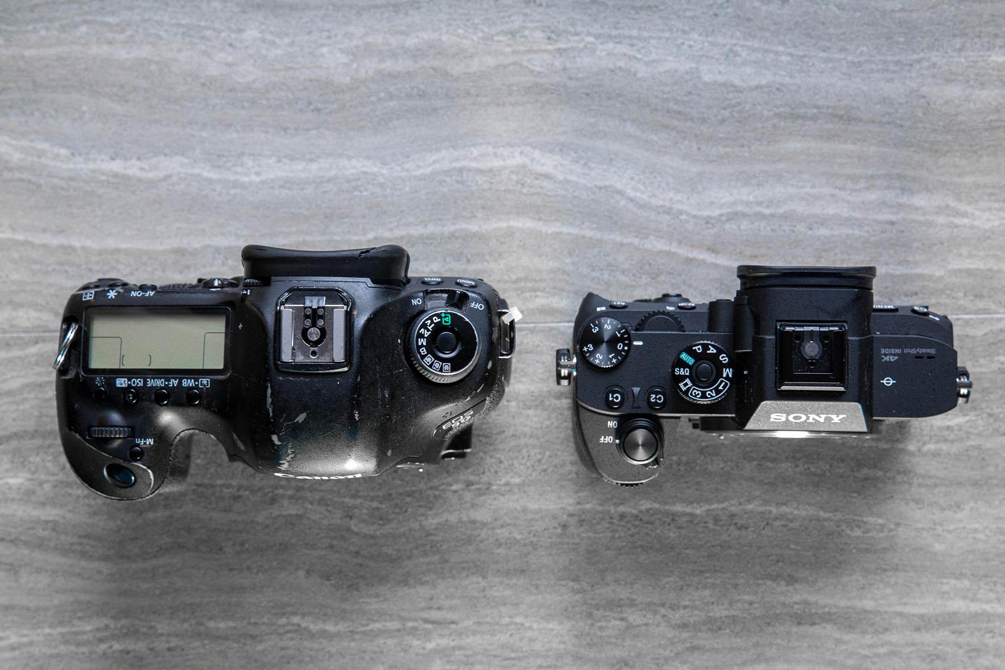 Canon V Sony