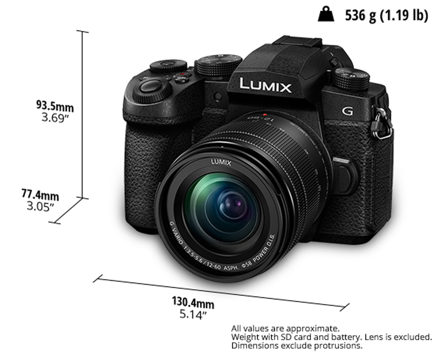 Image: The new G95 MFT camera body from Panasonic, released after the announcement of the S-series f...