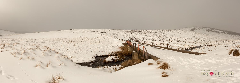 Image: Bridge over Bullock's Head Creek from Link Road, Kosciusko National Park by Caz Nowaczy ...