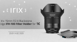 News: Irix Offering 15mm f2.4 Lens with Edge IFH-100 Filter Holder Combo