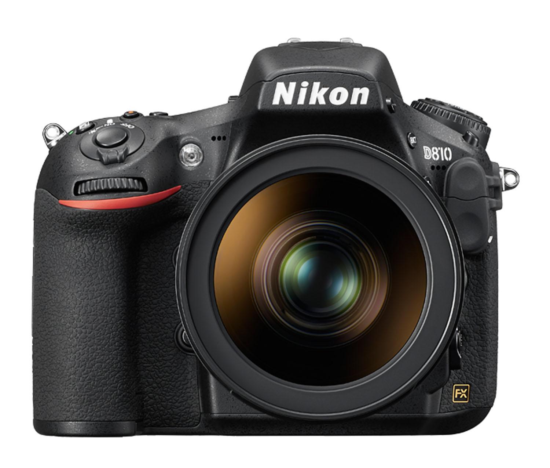 Image of a Nikon D8100 (from NikonUSA website)