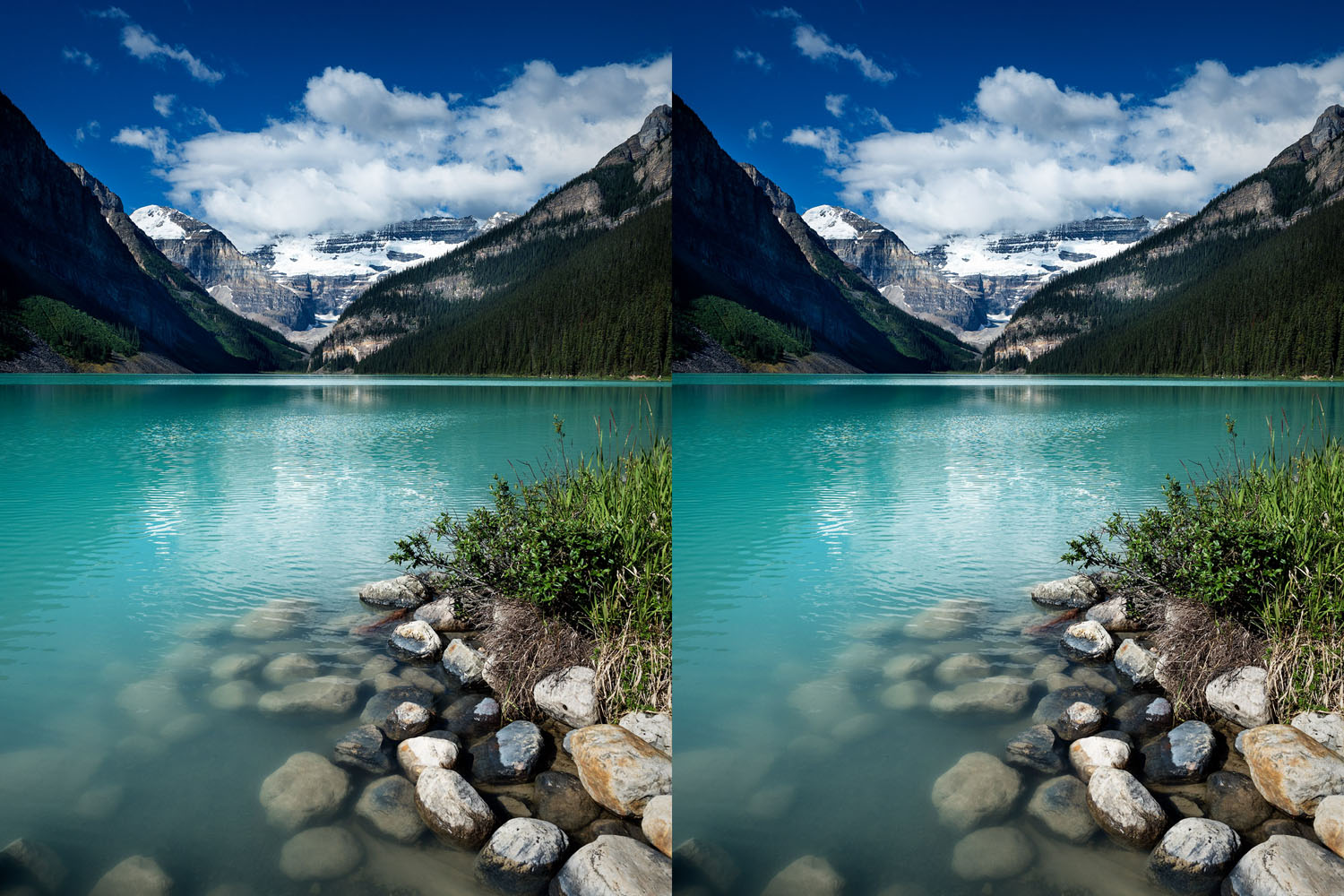 Comparison of two image same absolute pixel size but different DPI and theoretical size