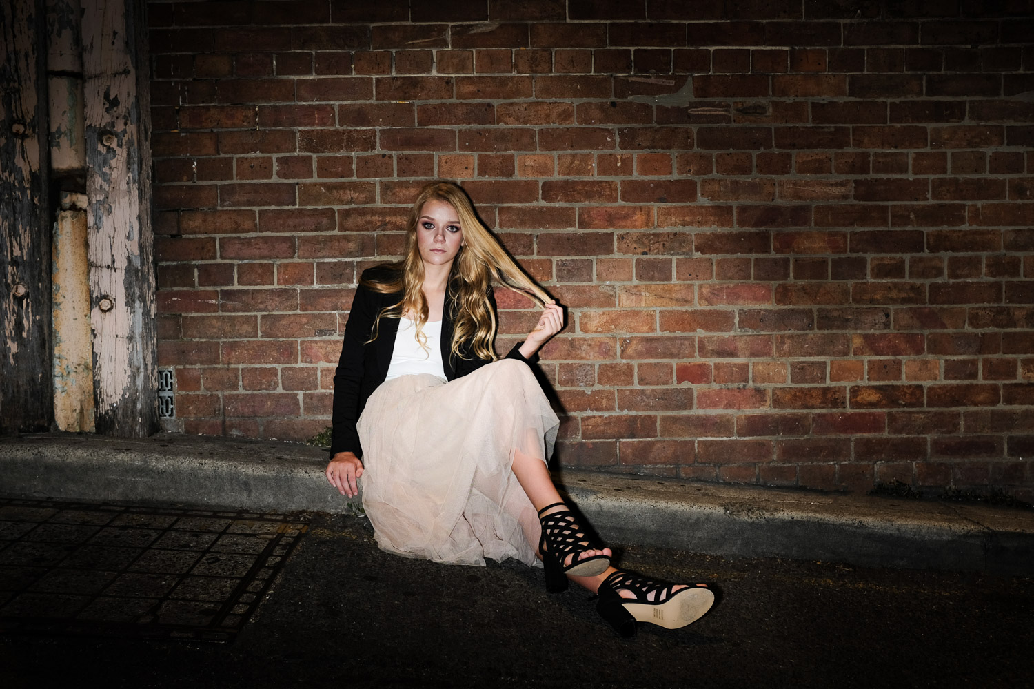 Image: In this shot, I used the Fujifilm X100F with the Godox X1T-F wireless trigger to fire an off-...