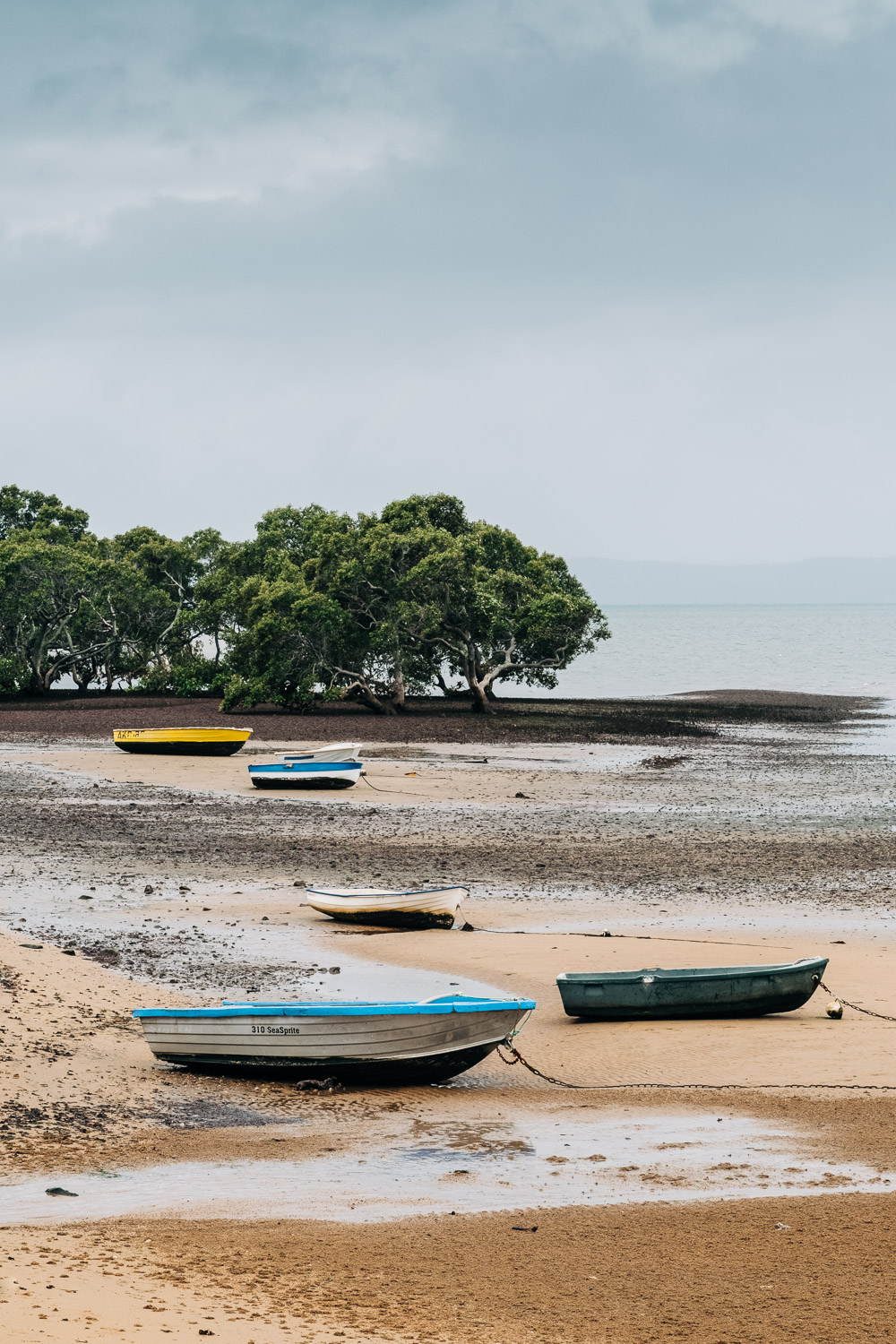 Image: Boats on the beach. I'm really happy with the sharpness, colors, and contrast of the images t...