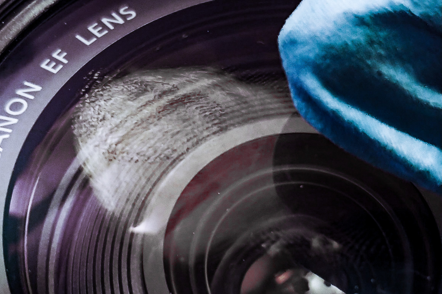 Photo mistakes - lens smudge