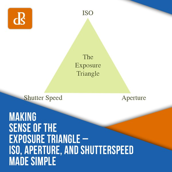Making Sense of the Exposure Triangle –  ISO, Aperture, and Shutterspeed Made Simple