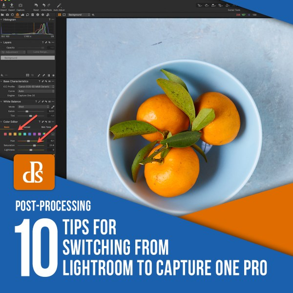 10 Tips for Switching from Lightroom to Capture One Pro