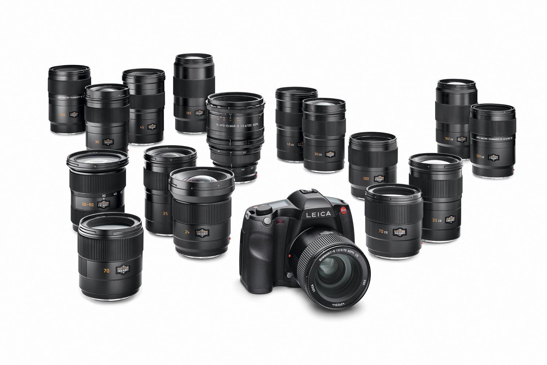 Leica S3 lens selection