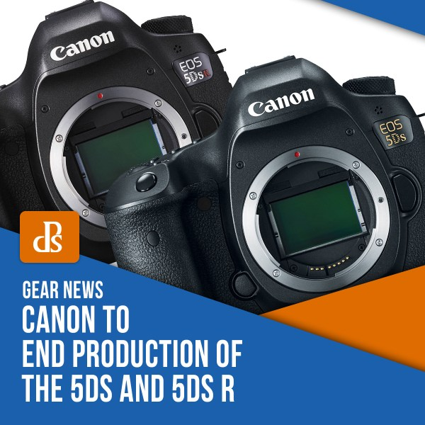 Canon to End Production of the 5DS and 5DS R