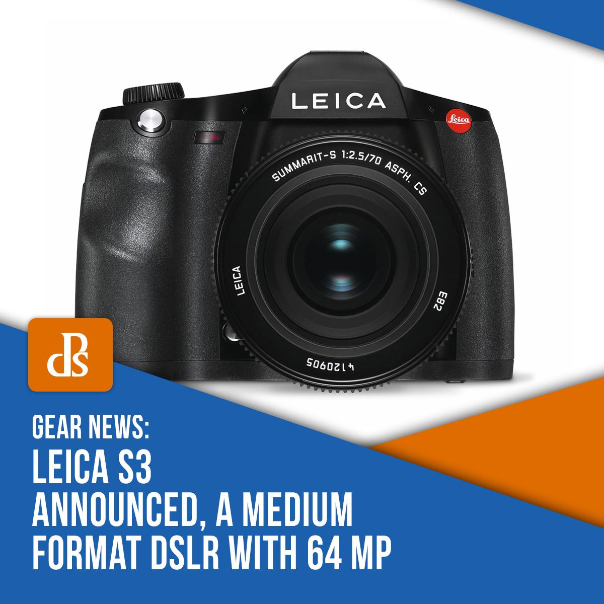 leica s3 announced